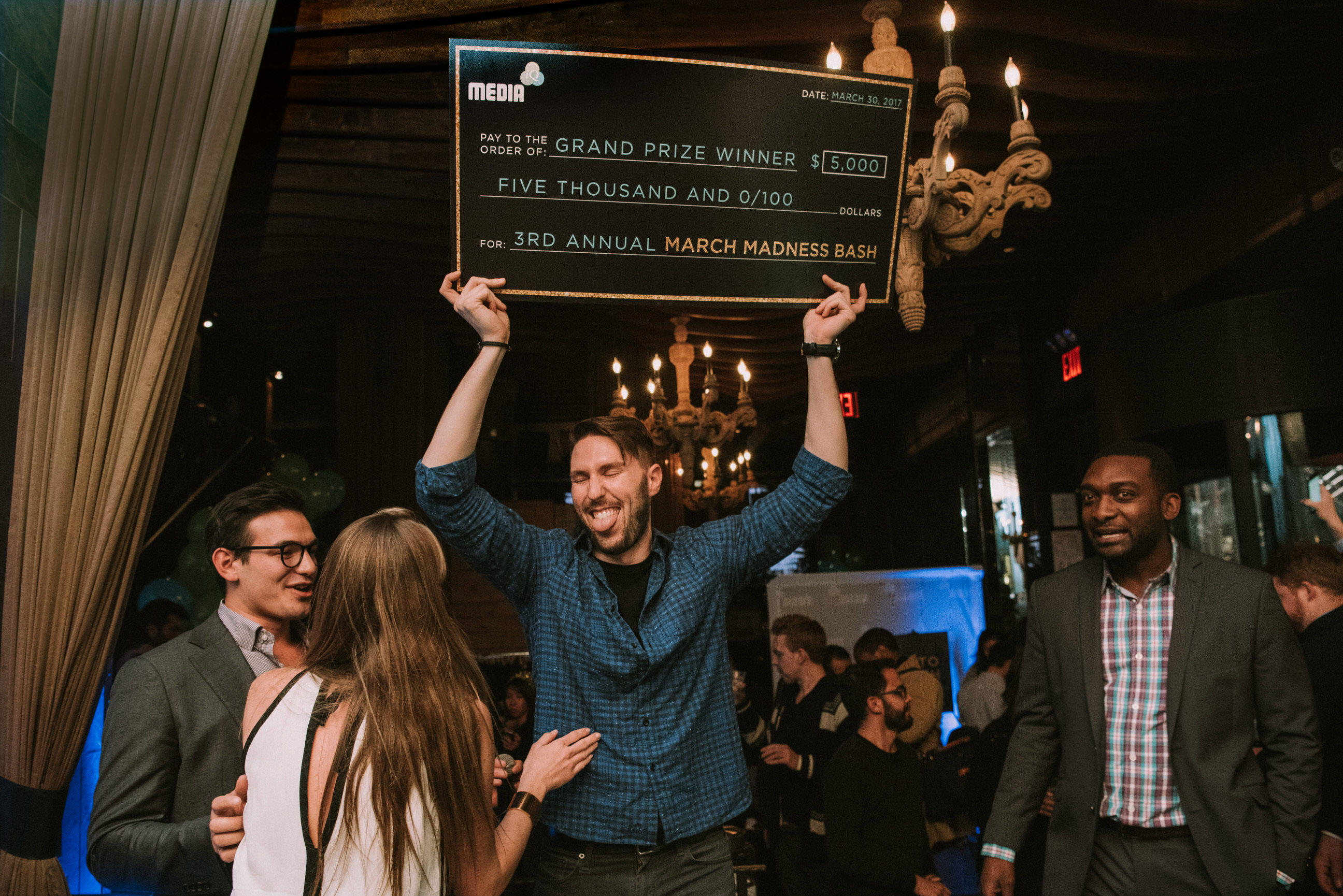 NYC Corporate Event Photographer March Madness Bash